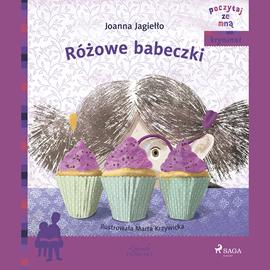 okładka Różowe babeczki, Audiobook | Jagiełło Joanna