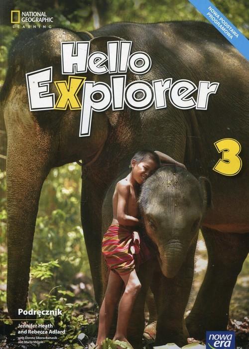 okładka Hello Explorer 3 Podręcznik + 2CD Szkoła podstawowa, Książka | Jennifer Heath, Rebecca Adlard, Sikora-Banasi