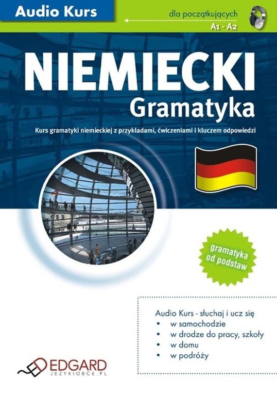 okładka Niemiecki Gramatykaaudiobook | MP3 | autor zbiorowy