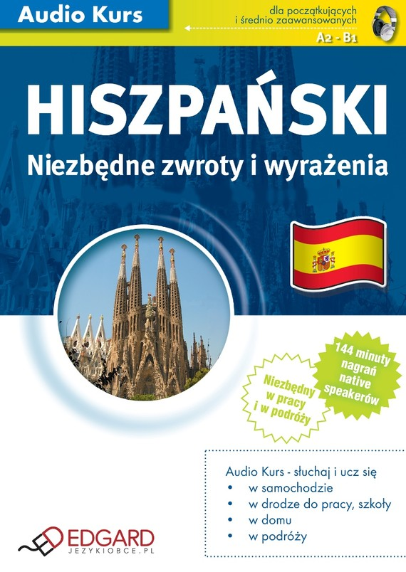 okładka Hiszpański Niezbędne zwroty i wyrażeniaaudiobook | MP3 | autor zbiorowy