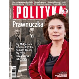 okładka AudioPolityka Nr 37 z 11 wrzesnia 2019 rokuaudiobook | MP3 | Polityka