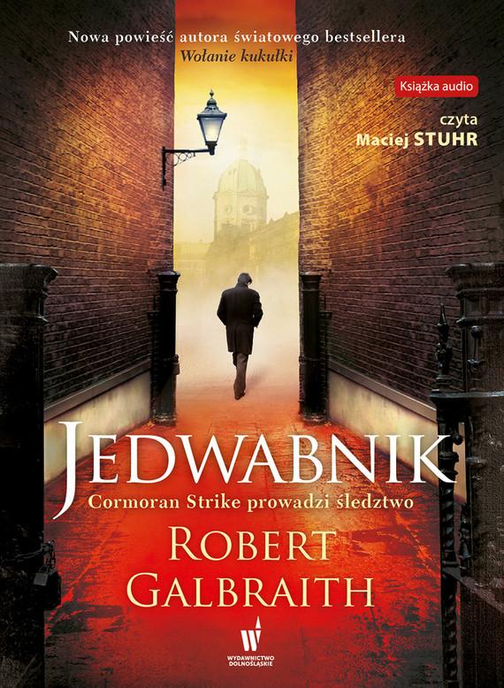 okładka Jedwabnik, Audiobook | Robert Galbraith