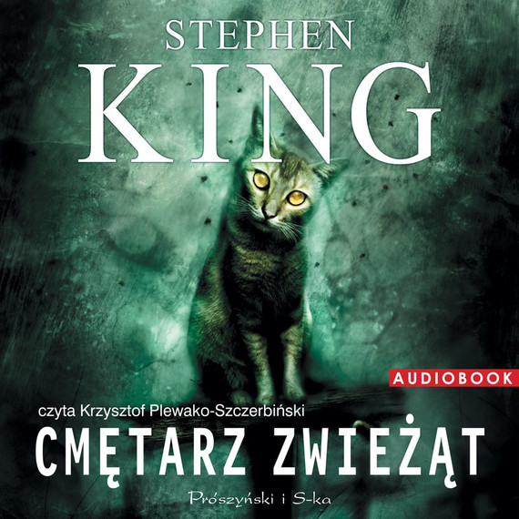 okładka Cmętarz zwieżąt, Audiobook   Stephen King