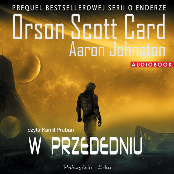 okładka W przededniu, Audiobook | Aaron Johnston, Orson Scott Card