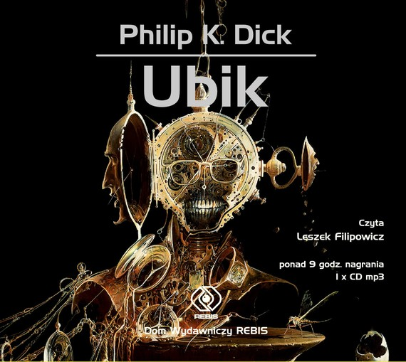 okładka Ubik, Audiobook | Philip K. Dick