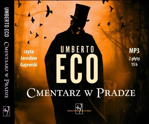 okładka Cmentarz w Pradze, Audiobook | Umberto Eco