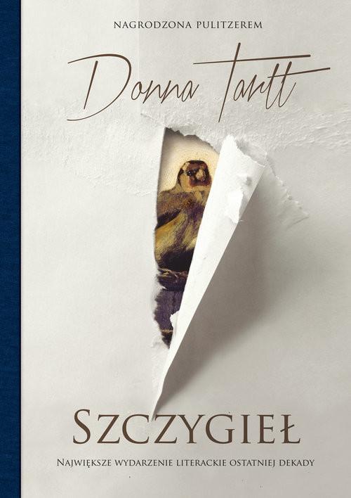 okładka Szczygieł, Książka | Tartt Donna