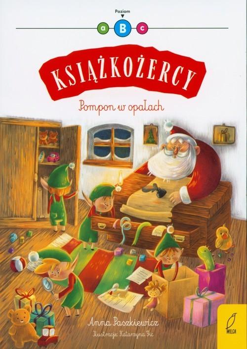 okładka Książkożercy Pompon w opałach Poziom 2, Książka | Paszkiewicz Anna