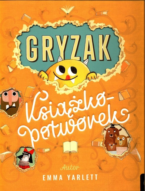 okładka Gryzak Książkopotworek, Książka | Yarlett Emma