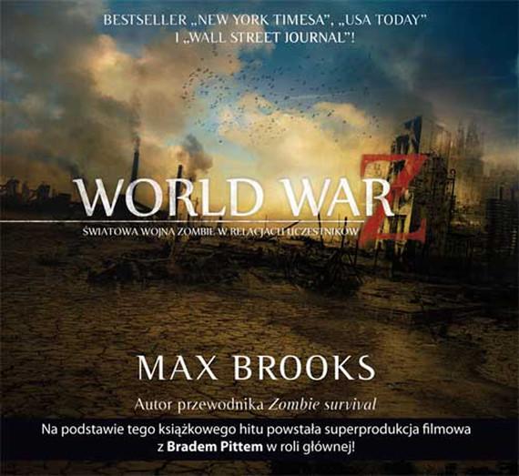 okładka WORLD WAR Z (audiobook), Audiobook | Max Brooks