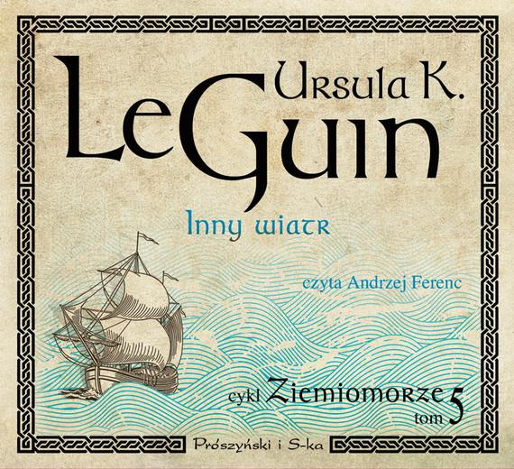 okładka Inny wiatr, Audiobook   Ursula K. Le Guin