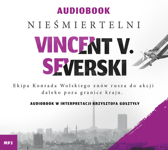 okładka Nieśmiertelni, Audiobook   Vincent V. Severski
