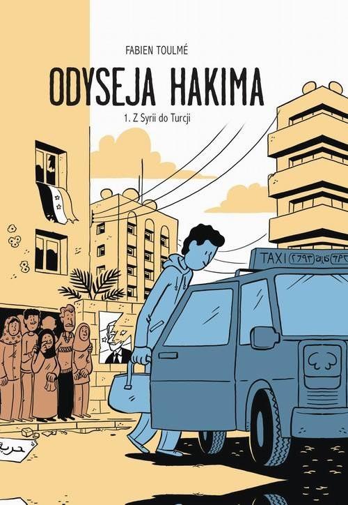 okładka Odyseja Hakima, Książka | Toulme Fabien