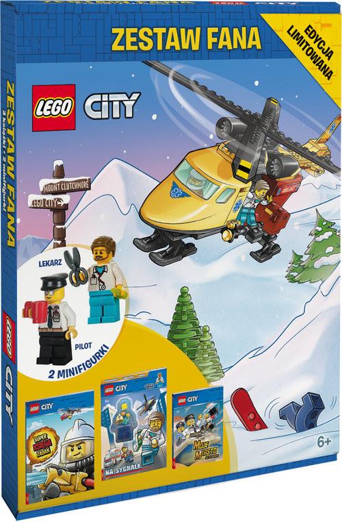 okładka Zestaw fana Lego City, Książka |