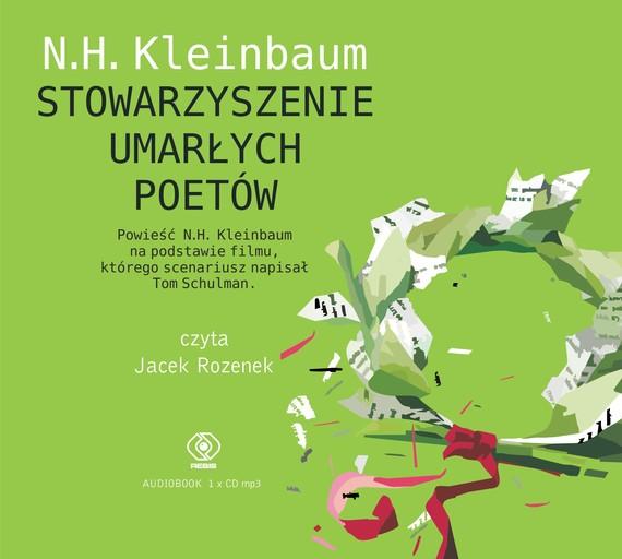 okładka Stowarzyszenie Umarłych Poetówaudiobook   MP3   N.H. Kleinbaum