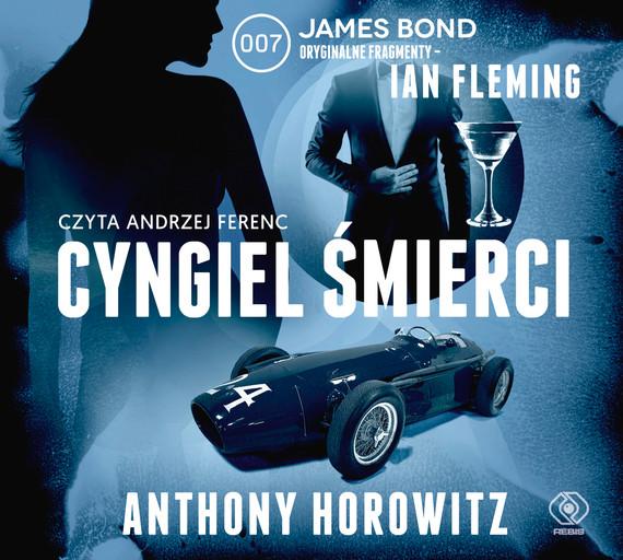 okładka Cyngiel śmierciaudiobook | MP3 | Anthony Horowitz