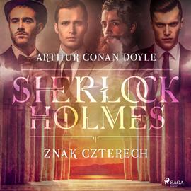 okładka Znak Czterechaudiobook | MP3 | Arthur Conan Doyle