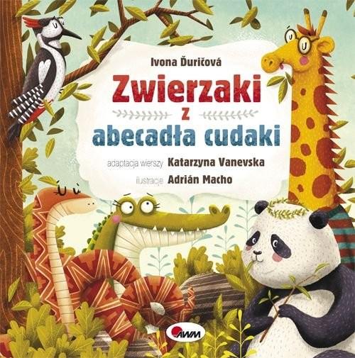 okładka Zwierzaki z abecadła cudaki, Książka | Duricova Ivona