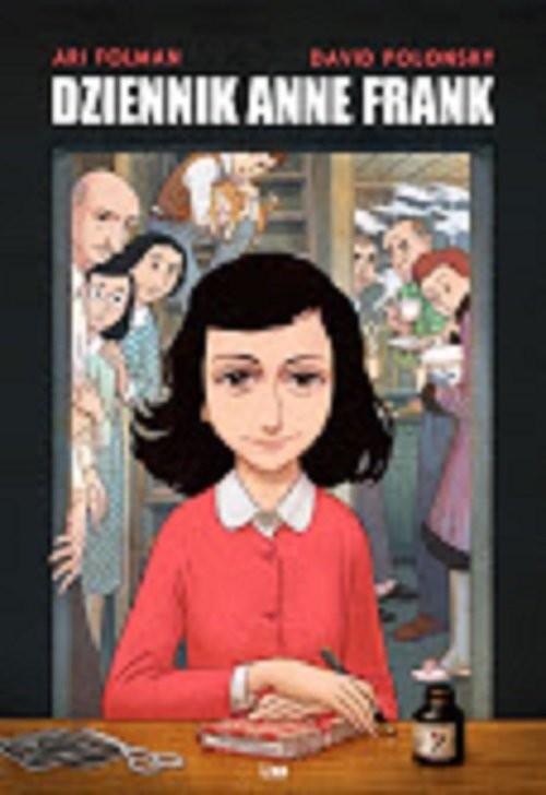 okładka Dziennik Anne Frank.Powieść graficzna, Książka | Ari Folman, David Polonsky