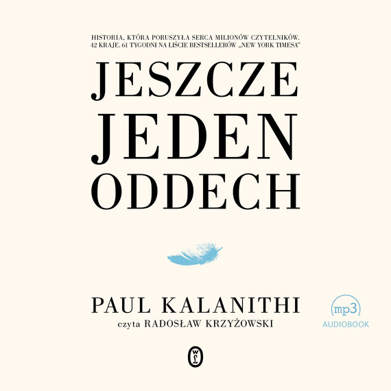 okładka Jeszcze jeden oddech, Audiobook | Paul Kalanithi
