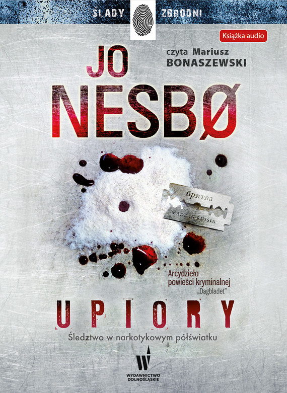 okładka Upioryaudiobook | MP3 | Jo Nesbø