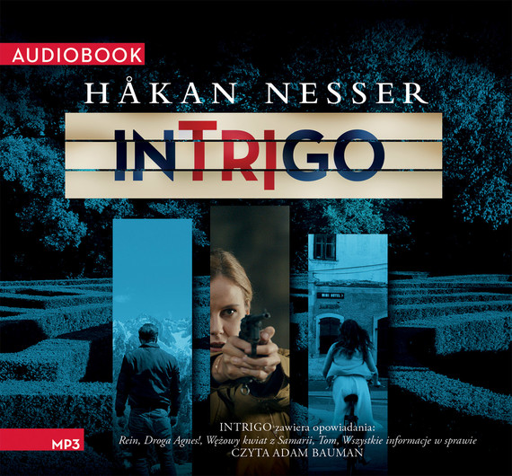 okładka Intrigo, Audiobook | Håkan Nesser