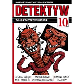 okładka Detektyw nr 10/2019, Audiobook | Agencja Prasowa S. A. Polska
