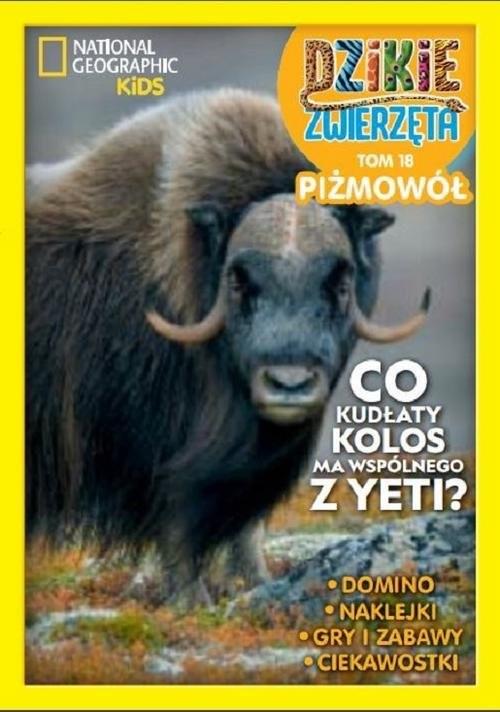 okładka Dzikie Zwierzęta Część 18 Piżmowółksiążka     