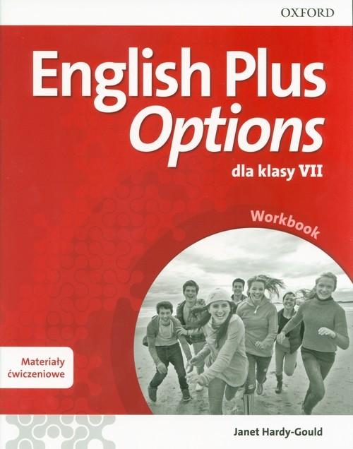 okładka English Plus Options 7 Workbook Szkoła podstawowa, Książka | Hardy-Gould Janet