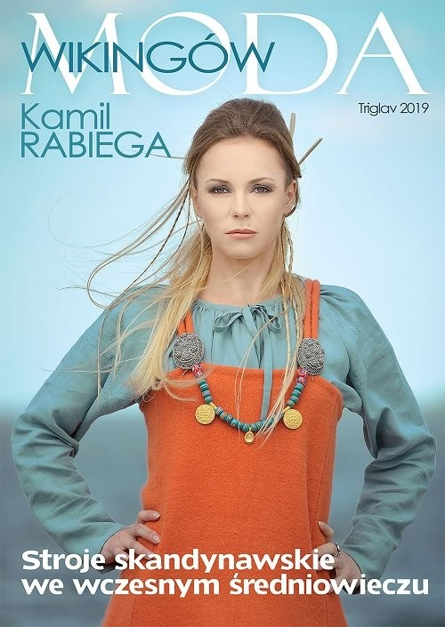 okładka Moda Wikingów, Książka | Rabiega Kamil