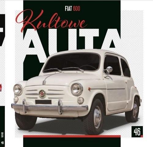 okładka Kultowe Auta Tom 46 Fiat 600, Książka |