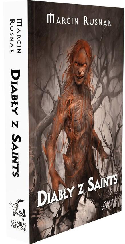 okładka Diabły z Saints, Książka | Marcin Rusnak