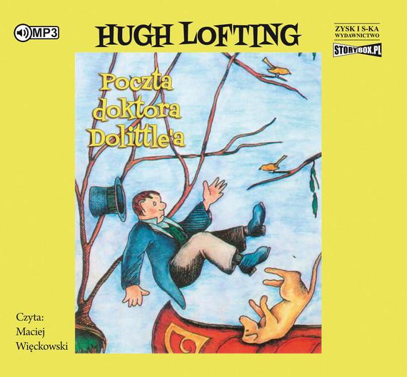 okładka Poczta Doktora Dolittle'aaudiobook   MP3   Hugh Lofting