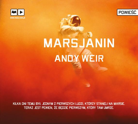 okładka Marsjaninaudiobook   MP3   Andy  Weir