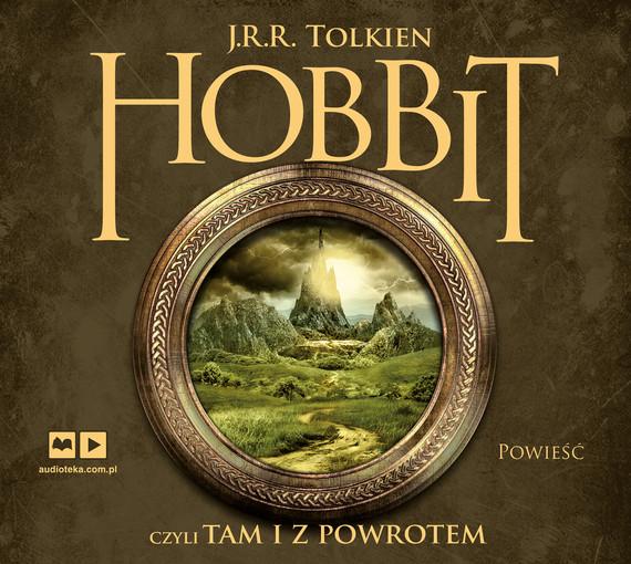okładka Hobbit, czyli tam i z powrotemaudiobook | MP3 | J.R.R.  Tolkien