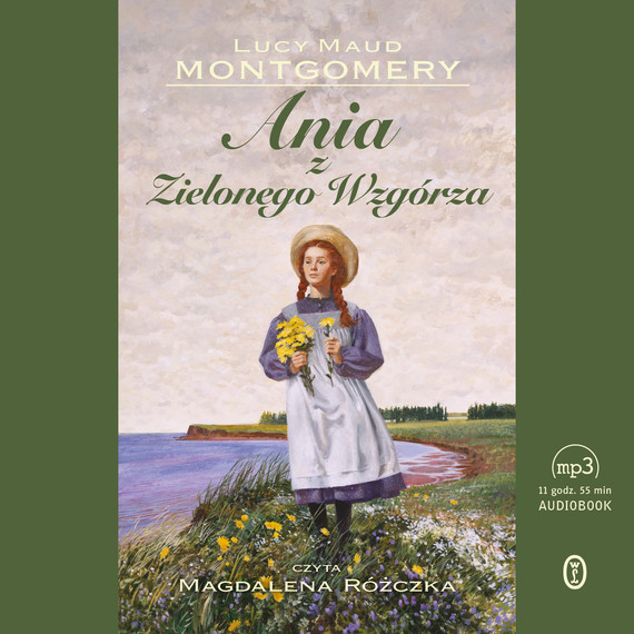 okładka Ania z Zielonego Wzgórzaaudiobook | MP3 | Lucy Maud Montgomery