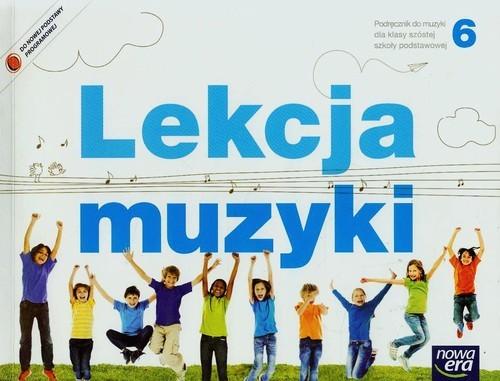 okładka Lekcja muzyki 6 Podręcznik Szkoła podstawowaksiążka |  | Monika Gromek, Grażyna Kilbach