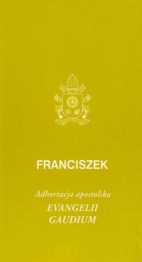 okładka Evangelii gaudium Adhortacja apostolskaksiążka |  | Franciszek