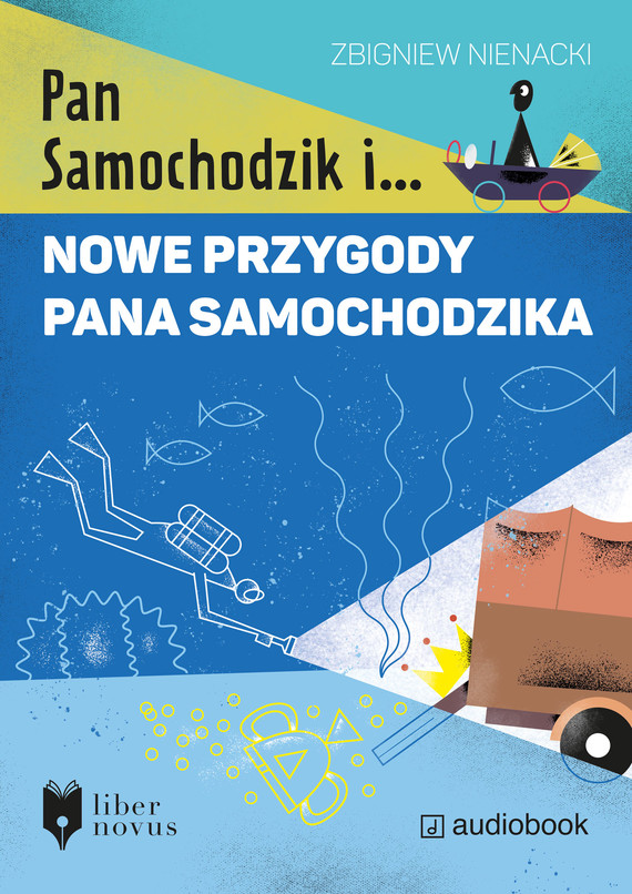 okładka Nowe przygody Pana Samochodzikaaudiobook | MP3 | Zbigniew Nienacki