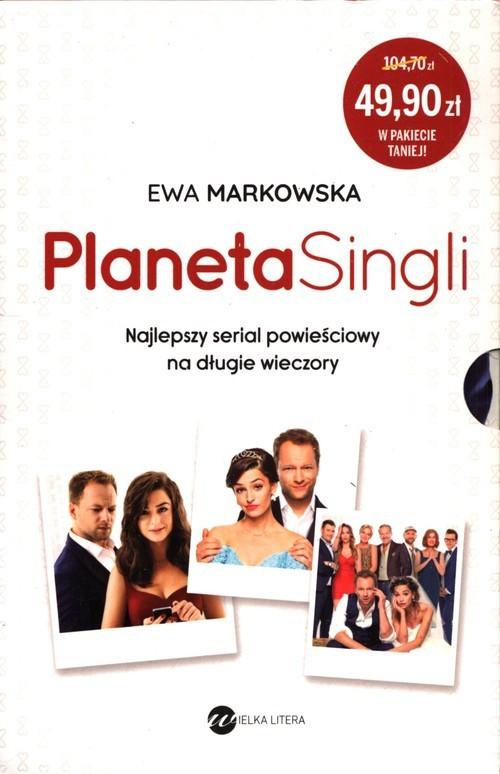 okładka Pakiet Planet Singli, Książka | Markowska Ewa
