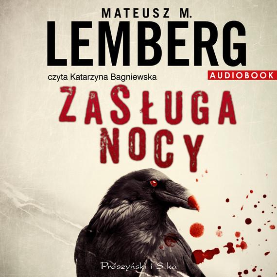 okładka Zasługa nocy, Audiobook | Mateusz M. Lemberg