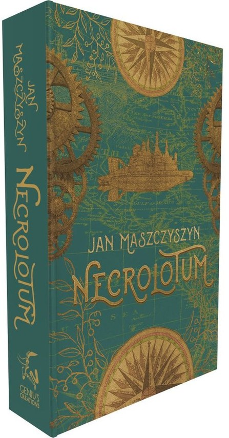 okładka Necrolotum, Książka | Maszczyszyn Jan