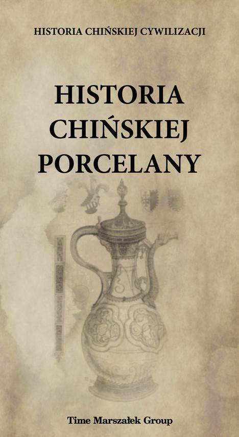 okładka Historia chińskiej porcelany, Książka |