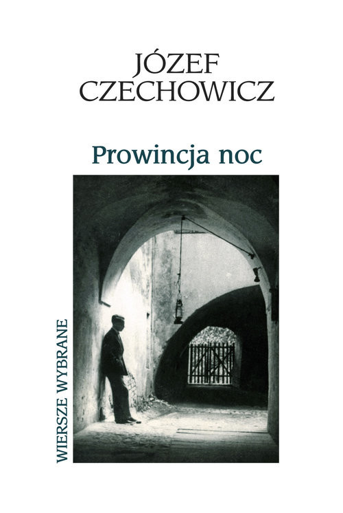 okładka Prowincja noc, Książka | Czechowicz Józef