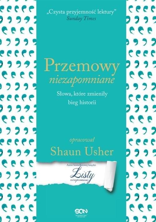 okładka Przemowy niezapomniane Słowa, które zmieniły bieg historii, Książka | Shaun Usher