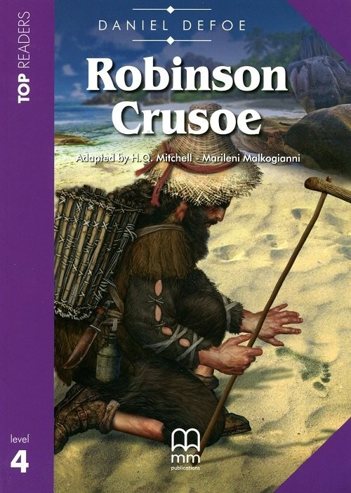 okładka Robinson Crusoe (z CD), Książka | Daniel Defoe