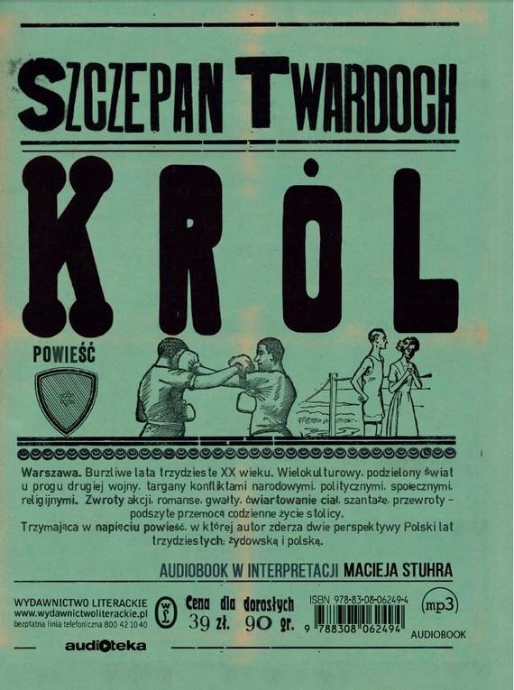 okładka Królaudiobook   MP3   Szczepan Twardoch