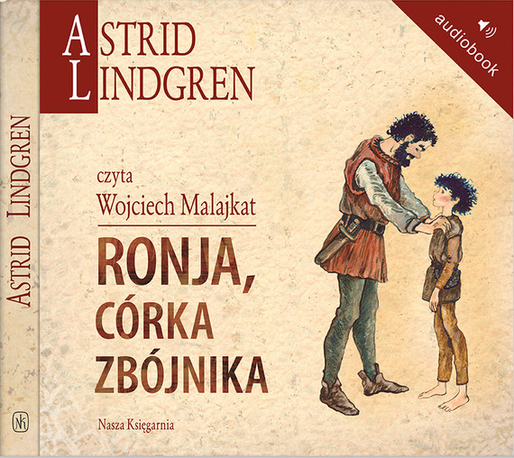 okładka Ronja, córka zbójnika, Audiobook | Astrid Lindgren
