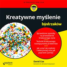 okładka Kreatywne myślenie dla bystrzaków, Audiobook | Cox David
