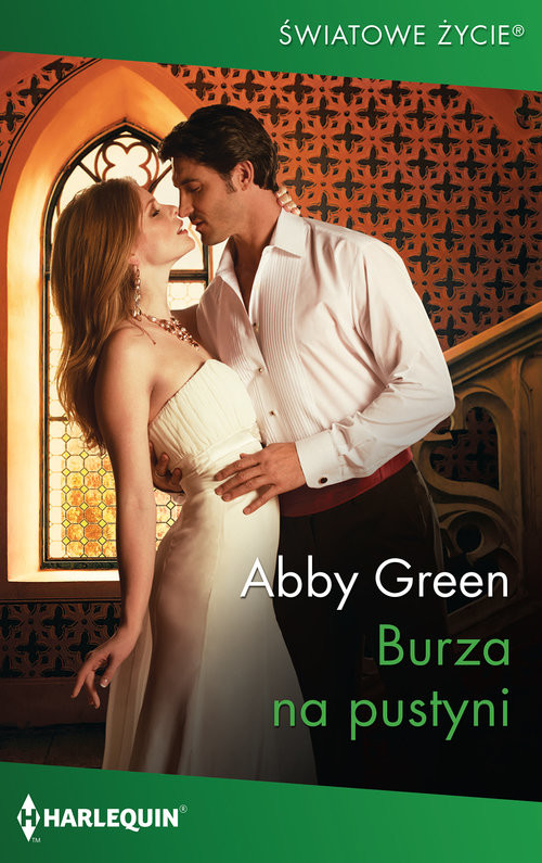 okładka Burza na pustyni, Książka | Green Abby